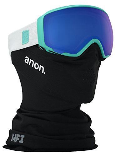 Anon WM1 MFI Asian Fit Snowboard Goggle, Empress Teal/Sonar Blue Lens, One - Anon Goggle