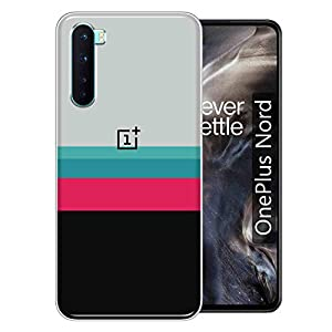 GISMO Back Cover for OnePlus Nord(Silicone/Multi-coloured)