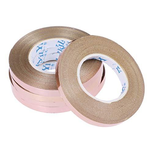 Toyvian 10m Rose Gold Ribbon Gift Ribbon Curling Ribbon Gift Present Souvenir Crafts