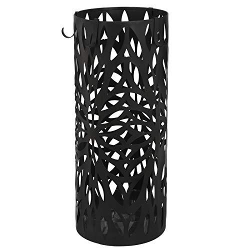 (Sarutaya Umbrella Stand Storage Holder Round Metal Hook Home)