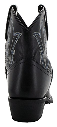 Black Soto M3003 Cowboy by Boots Boots Women's Janis Ankle fqwOrf8