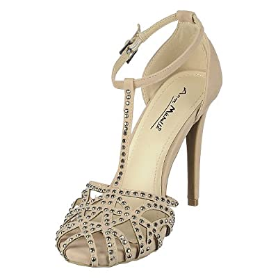 Anne Michelle Womens Perton-12 Dress High Heel