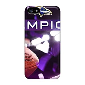 DrawsBriscoe Iphone 5/5s Perfect Hard Cell-phone Cases Support Personal Customs High-definition Baltimore Ravens Skin [kYm14093lgKr]