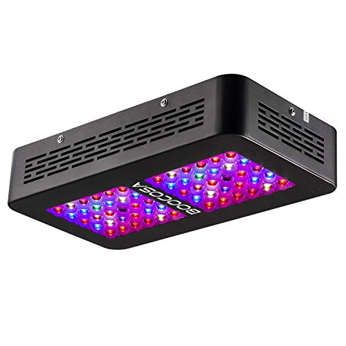 BOOCOSA LED Grow Light 300W Indoor Plant Light Full Spectrum with UV for Greenhouse Veg and Flower …