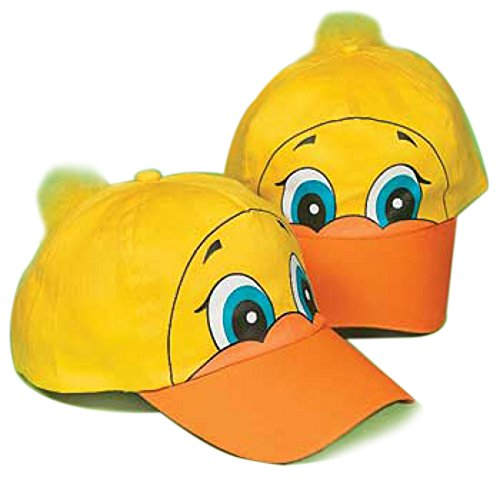 [Fun Express Ducky Baseball Hat] (Duck Costumes Adult)