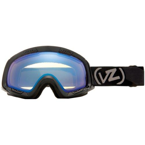 VonZipper Feenom Adult Winter Sport Snowmobile Goggles Eyewear - Black Gloss/Yellow Chrome / One Size Fits All