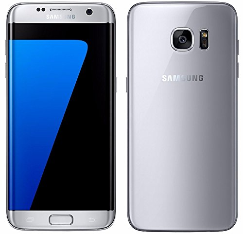 Samsung Galaxy S7 Edge SM-G935F 32GB Factory Unlocked GSM Smartphone - International Version, No Warranty (Titanium Silver)