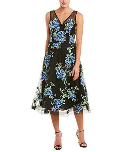 Teri Jon Womens by Rickie Freeman A-Line Dress, 10, - Freeman For Teri Jon Rickie