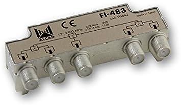 Alcad Distribuidor FI 4 Salidas (FI-483): Amazon.es: Electrónica