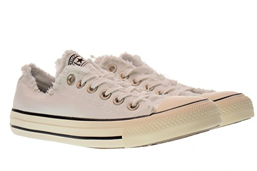 Converse Scarpe Donna Sneakers Basse 160946C Ctas Ox Taglia 36 Bianco
