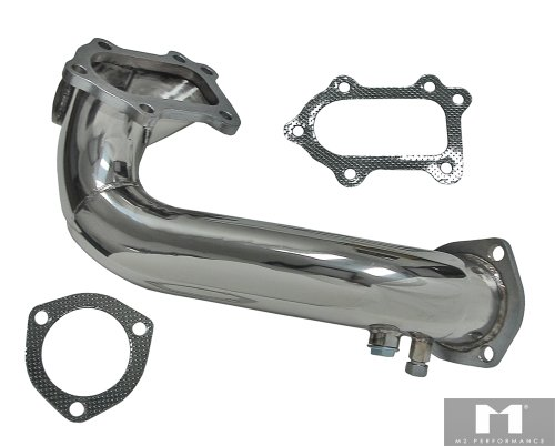 M2 Performance Turbo Stainless Steel Downpipe For 89-94 Toyota Celica / MR-2