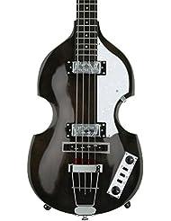 Hofner Ignition HI-BB-TBK 4-String Bass Guitar, Transparent B...