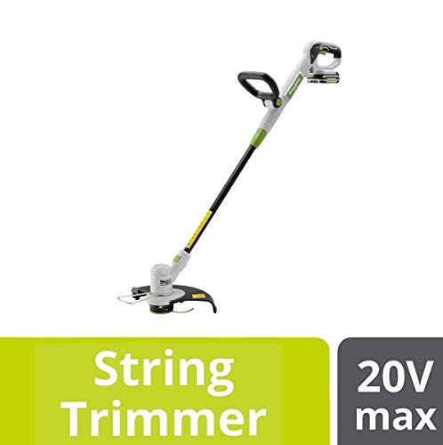 POWERSMITH 12 Inch Cordless Electric String Trimmer with 20V Battery and Charger
