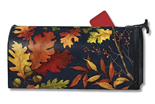 MailWraps Fall Foliage Mailbox Cover (Leaves Magnetic Mailbox Cover)