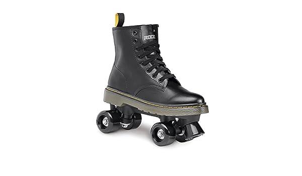 Roces 550030 Model Chuck Roller Skate,Black//White,10USW,8USM,41EU,7UK