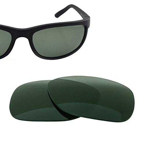 LenzFlip Replacement Sunglass Lens for Ray Ban Predator 2 RB 2027 (62mm) - G15 Green - Brands Luxottica Sunglasses