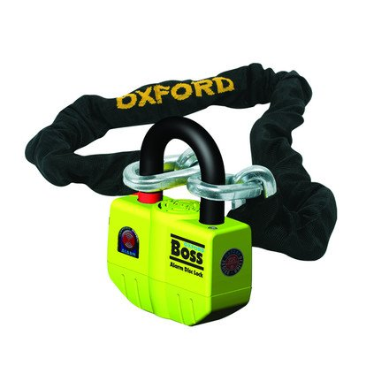 Oxford Boss Alarm Disc Lock With Chain by Oxford