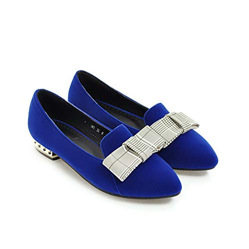 Compensées Bleu 5 Sandales Bleu 36 Femme SDC05821 AdeeSu EwaxqHWX