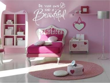 Be Your Own Kind Of Beautiful Style 2 Wall Decal Sticker Home Decor 23