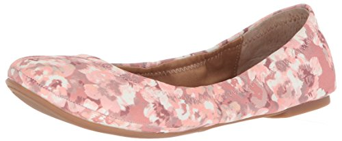 Lucky Brand Women's Emmie Ballet Flat, Canyon Rose, 6 M US (Ballet Sandals Leather)
