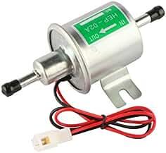 mostplus universal low pressure gas diesel inline metal solid petrol 12v  heavy duty electric fuel pump