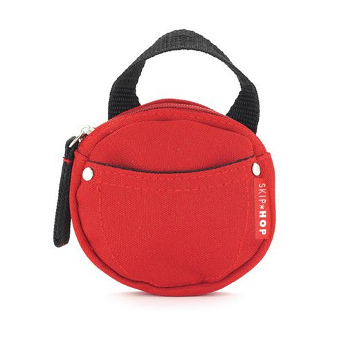 Skip Hop Pacifier Pocket, Rouge
