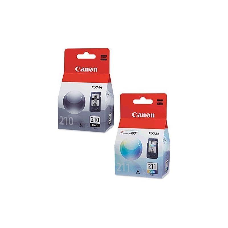 Canon PG-210 Black, CL-211 Color Ink Car