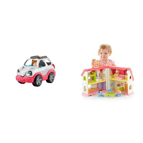 Fisher-Price Little People SUV and Surprise & Sounds Home