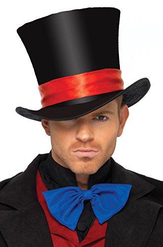 Deluxe Velvet Top Hat Costume Accessory