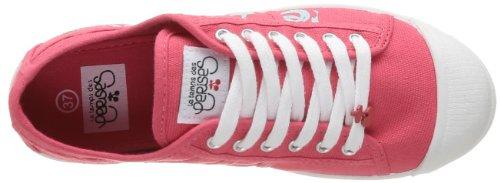 Le Temps des Cerises - Zapatillas de tela para mujer Rosa (Rose (Painting Paradise))
