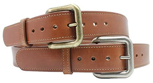 Handmade Leather Belt 1-1/2