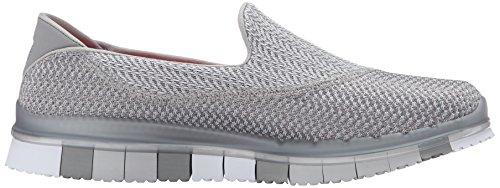 Skechers Go Flex-Extend Mujer Lona Zapatos para Caminar