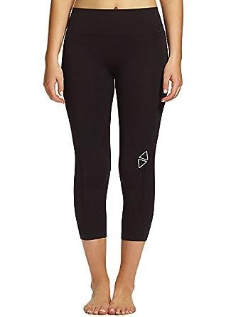 3dcfc98e74ed Amazon.com: Ambra Active Excel 7/8 Leggings Black: Clothing