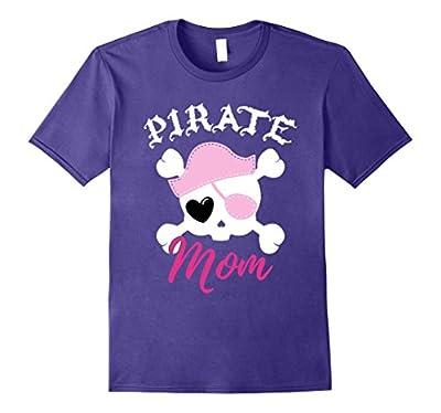Pirate Mom Funny Halloween Costume T-Shirt