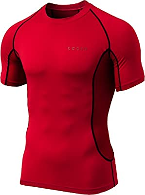 Tesla Men's Short Sleeve T-Shirt Cool Dry Compression Baselayer MUB73/TUB103/R13/R14