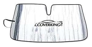 Coverking Custom Windshield Sunshade for Select Mercedes-Benz Sprinter Models - Reflective Mylar Foam (Silver)