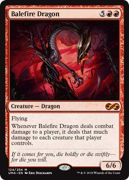 (Magic: The Gathering - Balefire Dragon - Foil - Ultimate Masters - Mythic)