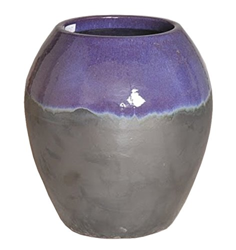 Two-tone Ceramic Planter - Purple by Emissary