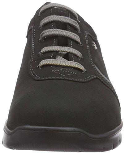 Zapatos Comfort Mujer Oxford Biscaya Shadow Negro de para Finn Schwarz Schwarz Cordones fpn1A1x