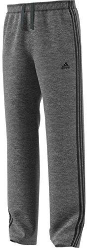 Classic Track Pant - adidas Essentials Cotton (Big and Tall) Pant LT Dark Grey Heather-Black