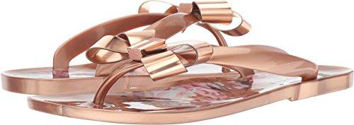 (Ted Baker Women's Suszie Flip-Flop, Serenity/Rose Gold, 8 M US)