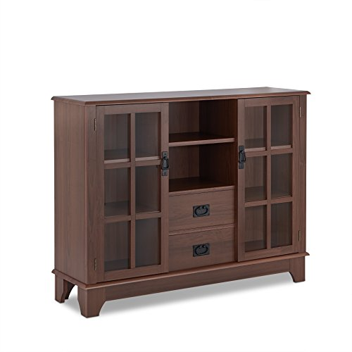 Acme Furniture 97324 Dubs Cabinet, One Size, Walnut