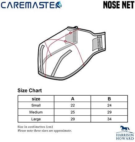 Harrison Howard Shield Nose Net/Filter Silver