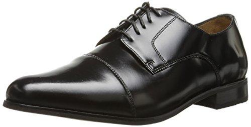 Florsheim Men's Broxton Cap Toe Oxford, Black, 10 D US