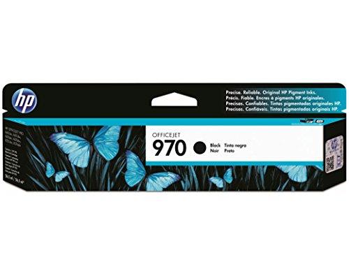 HP 970 Black Original Ink Cartridge For HP Officejet Pro X451dn, X451dw, X476dn, X476dw, X551dw, X576dw