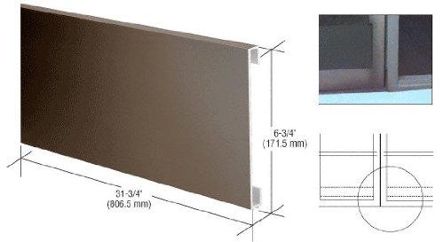 Bronze 10'' Bottom Door Rail Adaptor by C.R. Laurence (Image #2)