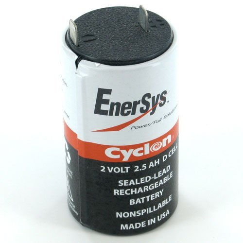Hawker Cyclon 0810-0004 SINGLE CELL 2V-2.5AH D Cell Battery