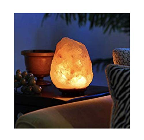 lampada a LED a 7 colori Lampada sale dellHimalaya Sale rosa Fairtrade ZAFA. Mini lampada al sale naturale fatta a mano 1kg