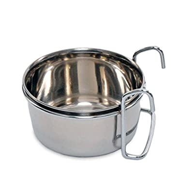 Indipets Stainless Steel Hook-On Coop Cup 5 OZ