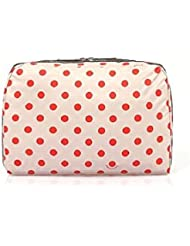 LeSportsac Essential X-Large Cosmetic (Sunshine Dot Red)